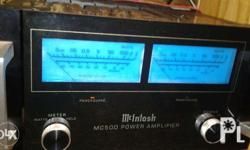 McIntosh 500, Power Amplifier In good condition