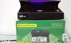 MD-6 MONEY DETECTOR Compact Electronic Money Detector