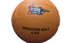 Medicine ball 5kg Rubber construction Use a medicine