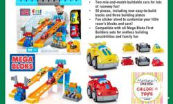 Two mix-and-match buildable cars for lots of raceway
