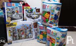 All items bought from US All Authentic Mega Bloks First