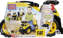 Mega Bloks CAT 3IN1 ride one srp 4,999.75 now only