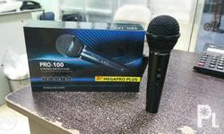 Comes with 8m wire. Professional Mic for karaoke and