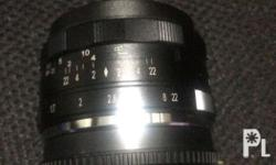meike 35mm lens for fuji x-mount no box condition 9/10