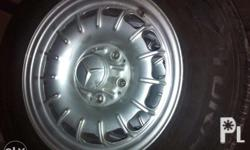 mercedes benz 1 mag wheels with new tires size 14 inch