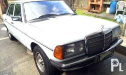 FOR SALE MERCEDES BENZ 200 GAS MT 1985 Preserved Unit
