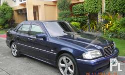 Deskripsiyon Mercedes Benz C220 in good condition on