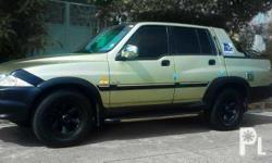 - Mercedes Benz Musso sports pick-up 2003 4WD - *4wd