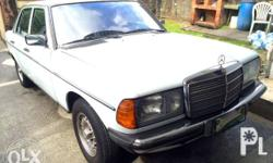 FOR SALE MERCEDES BENZ W-123 200 GAS MT 1985 Preserved