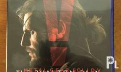 MGSV for PS4. Tagaytay and Sm dasmari�±as meetup only.