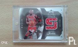 michael jordan game-jersey and exquisite autograph