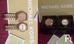 On hand and ready to ship MK watches, just contact me