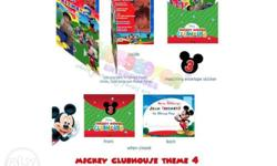 Mickey 4r 2folds personalized invites for only 35/set