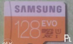 Brand new Samsung micro SD 128gb authentic. pinabe2nta