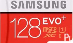 MicroSD EVO+ Memory Card.Up to 80MB/s Transfer Speed