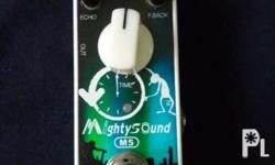 For sale Mighty Sound Delay Guitar Effects Pedal P1,000