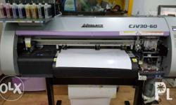 Mimaki CJV30-60 EcoSolvent printer and Auto cutter