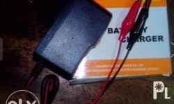 Battery charger for motorcycle 12v Input - 100 - 240