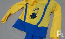 Minion costume... will fit from 2 to 5 yrs old