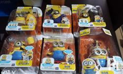 Minions by thinkway toys All original Mint in box P699