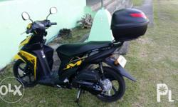 Selling my mio 1k milage plng rush hind ngagamit