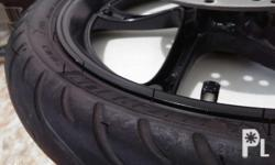 Selling my mio mx stock mags with michelin tires