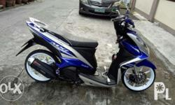 mio mxi 125 model 2017 5months old complete papers orig