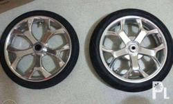 Power Mags CHROME no issue makinis FDR Tires Front