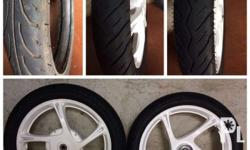 For sale mio sporty stock mags with stock tires front