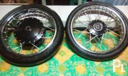 for sale mio stock rimset 5LW hub, makapal pa mga