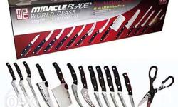 Miracle blade set Details seen on pics. -Pre-order-
