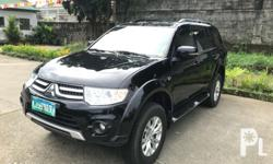 2015 Mitsubishi Montero GLX Used on short distances and