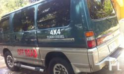 Mitsubishi delica 4x4 Acquired 2004 Automatic smooth