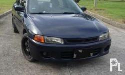 FS: Mitsubishi Lancer GLXi '97 Manual Transmission