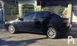 mitsubishi lancer, glx ex. black. 2013 model, very good