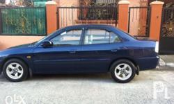 Mitsubishi lancer GLXI 98mdl Color: galaxy blue Leather