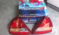 Mitsubishi lancer pizza pie tail light assembly Brand
