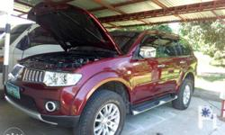 montero gls,matic,2010 model,register,new tire,fresh