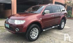 Mitsubshi Montero 2009 model 4x2 2009 Gls Montero High