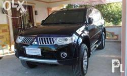Mitsubishi montero 2010 model good condition, Papers