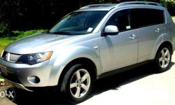 Luxurious Mitsubishi Outlander 2008 local unit Top of
