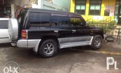 "Pajero 06model { "" oreg matic fresh air con good"
