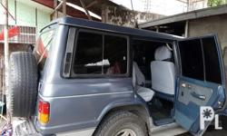 For sale pajero manual transmission diesel see the unit