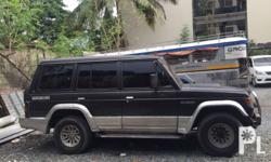 Letting go of our trusted Pajero for only P220,000