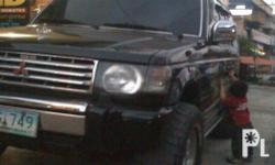 Description Make: Mitsubishi Model: Pajero Type of car: