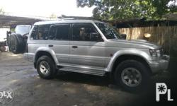 Aircon Stereo 4M40 engine 2002 model AT 4x4 updated car