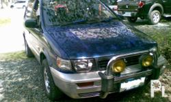 Deskripsiyon Mitsubishi space wagon rvr 2002 model,
