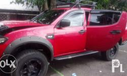 Mitsubishi Strada 2010 model for sale Price negotiable