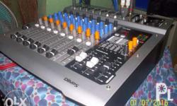 mixer 8 channel powered active mixer 350 watts 4 ohms 7