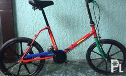 For sale orig miyata folding bike alloy frame smooth